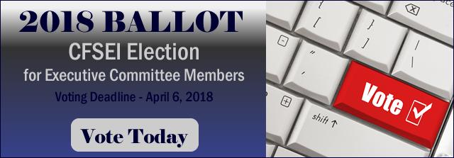 2018 CFSEI Executive Committee Ballot