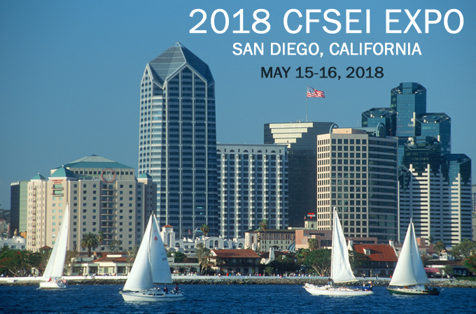 2018 CFSEI EXPO IN SAN DIEGO, CALIFORNIA, MAY 15-16, 2018