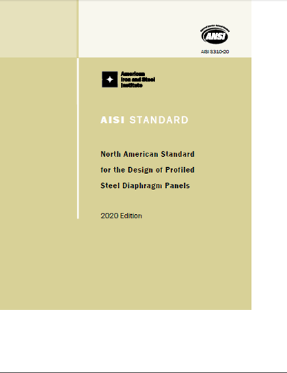 AISI S200-07: AISI North American Standard for Cold-Formed Steel Framing - General Provisions 2007 Edition